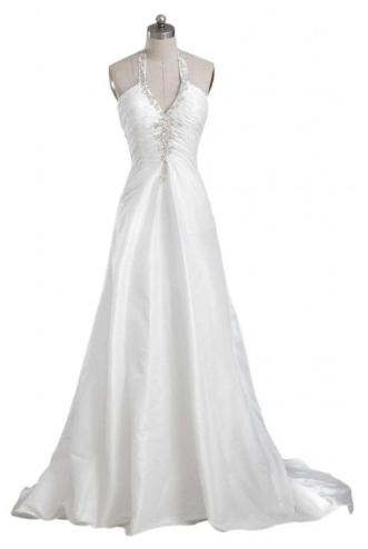halter dress front